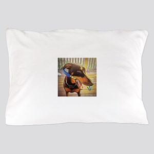 Gracie the Dobie Pillow Case